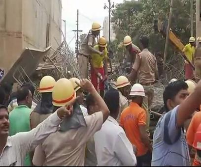 1 killed, 11 injured as under-construction flyover collapses in Bhubaneswar