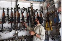 Guns cheaper than smartphones in this Pak town