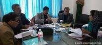 DDC chairs District Consultative Committee meeting at Budgam