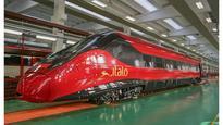 Alstom and NTV Unveil the First Car of Pendolino Italo