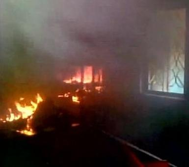 Kerala: CPI-M office set ablaze hours after RSS unit is bombed