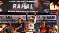 Graham Rahal and Honda win wild IndyCar race at Texas Motor Speedway