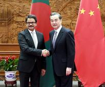Wang Yi Meets with State Minister for Foreign Affairs Mohamed Shahriar Alam of Bangladesh