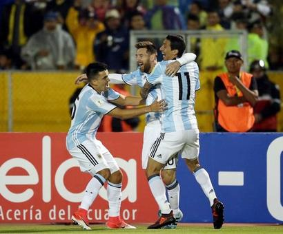 Uruguay, Argentina, Colombia, Portugal qualify for 2018 World Cup