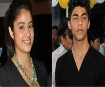 Aryan Khan and Jhanvi Kapoor to attend school together?