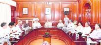 Rajnath meets Manipur team