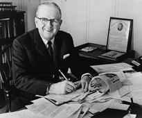 Donald Trump credits 'greatest guy' Norman Vincent Peale for boosting his Christian faith and self-confidence