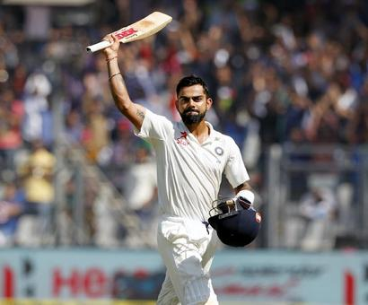 Kohli, Ashwin rule supreme as India pass the Test in 2016