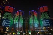 Man From Kerala Lights Up UAE Skyline