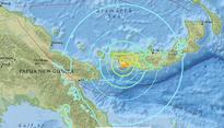 Earthquake / 6.9 magnitude and 6.2 magnitude tremor strike Papua New Guinea,...