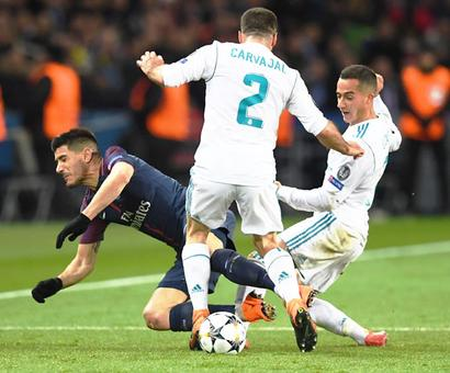 PHOTOS: Real Madrid, Liverpool stroll into Champions League quarters