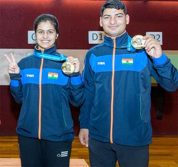 Gold finger: Teenager Manu's sensational run at ISSF WC continues