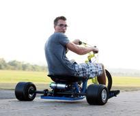 125ccm Motorised 4 Stroke Drift Tricycle (video)