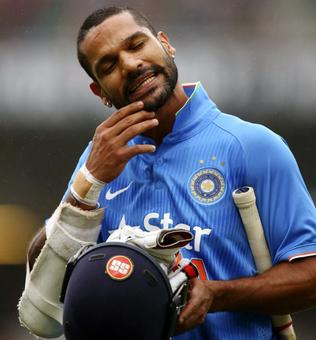 Dhawan leaves for India to attend to his ailing mother
