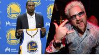 Guy Fieri Took Some Credit For Kevin Durant Joining The Warriors