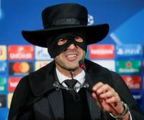 Champions League: Shakhtar Donetsk boss keeps his word, dresses up as Zorro after sealing last-16 spot