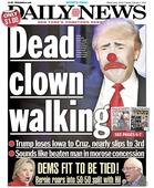 The Daily News Trolls Donald Trump With This Cover