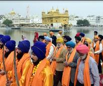 Colourful religious procession by KCGC on Nanak Jayanti