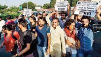 JNU protest turns violent, Registrar abused