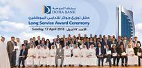 Doha Bank celebrates long-serving employees