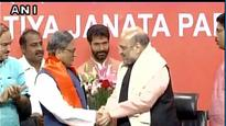Former Karnataka CM and Congress veteran SM Krishna joins BJP