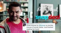 BJP IT cell allegedly forced Snapdeal to dump Aamir Khan: Twitterati react