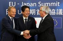 EU, Japan seal free trade in signal to Trump