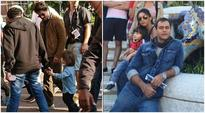 Wife Gauri and AbRam are giving company to Shah Rukh Khan on the sets in Europe, see pic