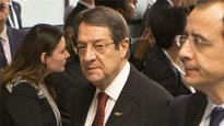 Cyprus peace talks disrupted by protocol row