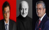 Rajdeep vs Arnab: Anupam Kher tries to defend Arnab, leaves Twitter furious