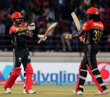 IPL PHOTOS: Gayle, Chahal power RCB to victory