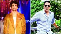 Sushant Singh Rajput supports Akshay Kumar's cause, here's how