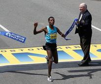 Ethiopia's Desisa wins men's Boston Marathon