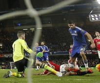 Diego Costa rescues point for Chelsea against Man Utd