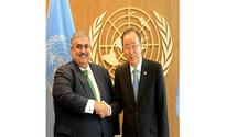 Foreign Minister meets UN Secretary-General