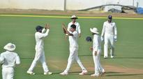 Hyderabad pacers restrict Goa