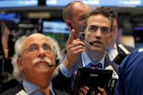 S&P pulls back from record; Dow notches eight day of gains