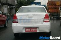 Toyota Etios Facelift Spied; Launch In Few Months