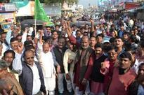 'Jan Aakrosh Divas': Opp parties hold protest in Haryana and Punjab