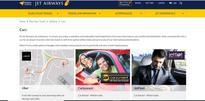 Indigo offers Zoomcar self drive cars and Savaari cabs to its passengers