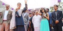 Kareena speaks to Media @ Malabar Gold inauguration