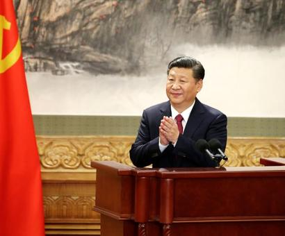 No successor in sight. Xi is China's unquestioned boss