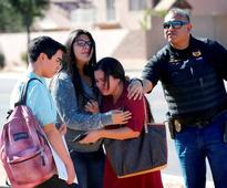 Two girls (15) shot in apparent murder-suicide at Arizona high school 'appeared to be in relationship' - police