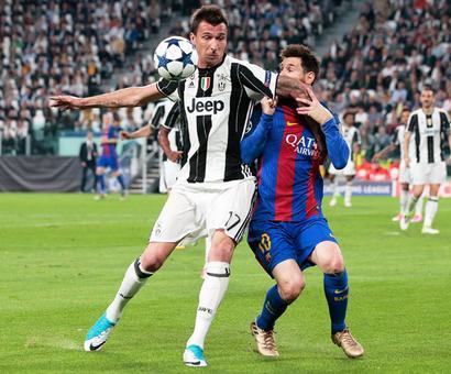 Champions League PIX: Dybala upstages Messi as Juve stun Barcelona