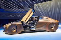 BMW centenary concept car showcases the future of mobility