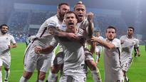 Mo Salah impresses but red hot Edin Dzeko steals the show for Roma