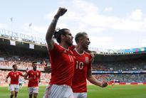 Soccer-Red Dragon inspires Bale ahead of Belgium showdown