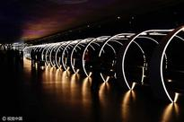 (Photos) Space-Time Tunnel opens in Guangzhou airport