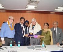 US Congressman, Mr Jim McDermott delivers lecture at Amity University