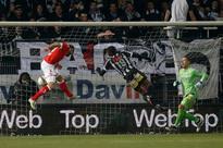 Belgian match abandoned as firecrackers, lighters thrown